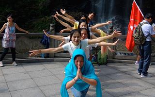 公司夏季旅游之庐山避暑活动